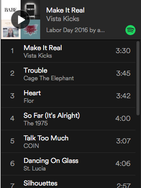 Playlist: Labor Day 2016