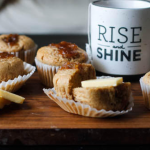 Jam and Tea Muffins
