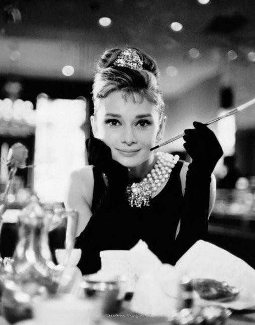 """bdea1b476e0 Audrey Hepburn's signature fluttery lashes and peachy lips came about after  she starred in """"Breakfast at Tiffany's"""" in 1961. To achieve this glamorous  but ..."""